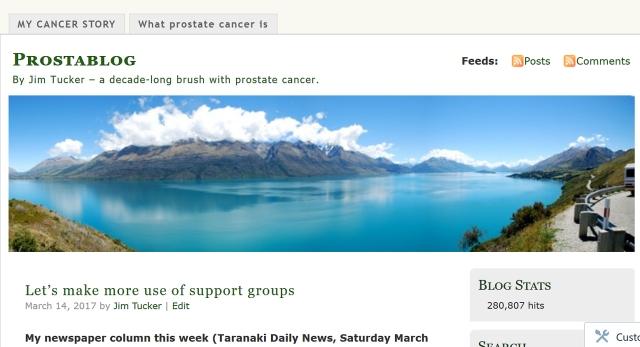 Prostate blog